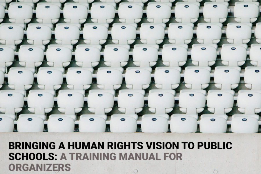 CADRE/NESRI: Bringing A Human Rights Vision to Public Schools: A Training Manual for Organizers
