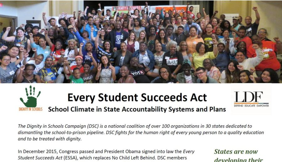 ESSA (Every Student Succeeds Act) – School Climate Provisions