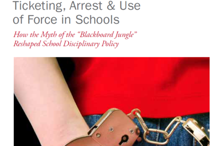 Texas' School-to-Prison Pipeline: Ticketing, Arrest & Use of Force in Schools
