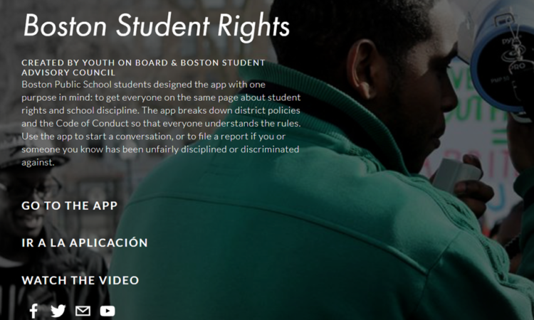 Student Rights in School? There's an App for That!