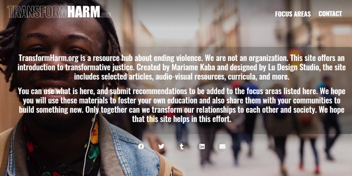 TransformHarm.org