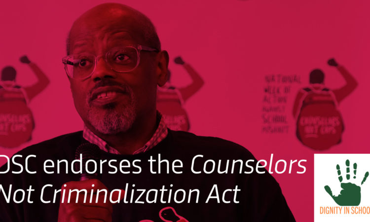 DSC Endorses the Counseling Not Criminalization Act